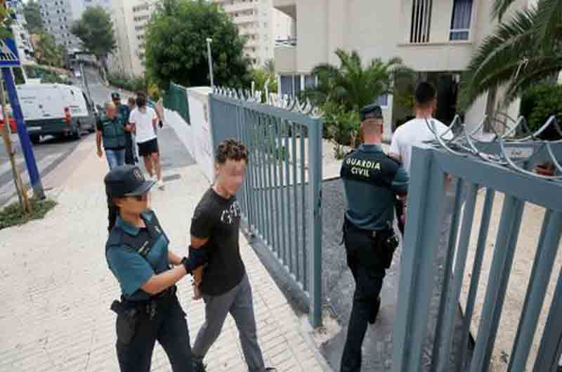 5 franceses detenidos por una presunta violación en grupo en Benidorm