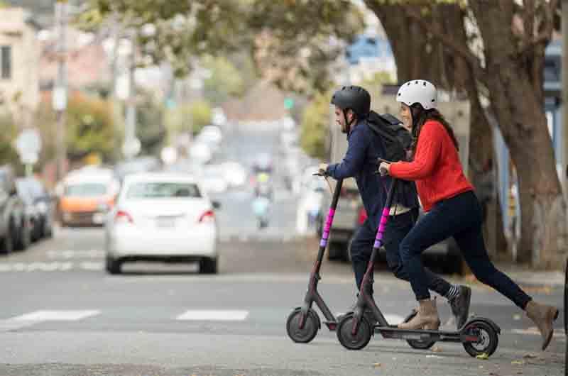Que pasará con los scooters de Lyft en el invierno?