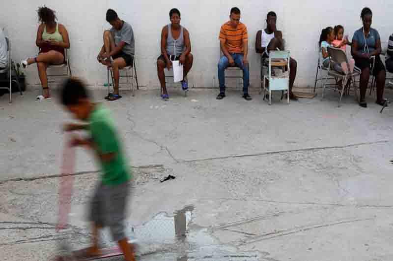Esperanza y desesperación en un refugio mexicano de Ciudad Juárez