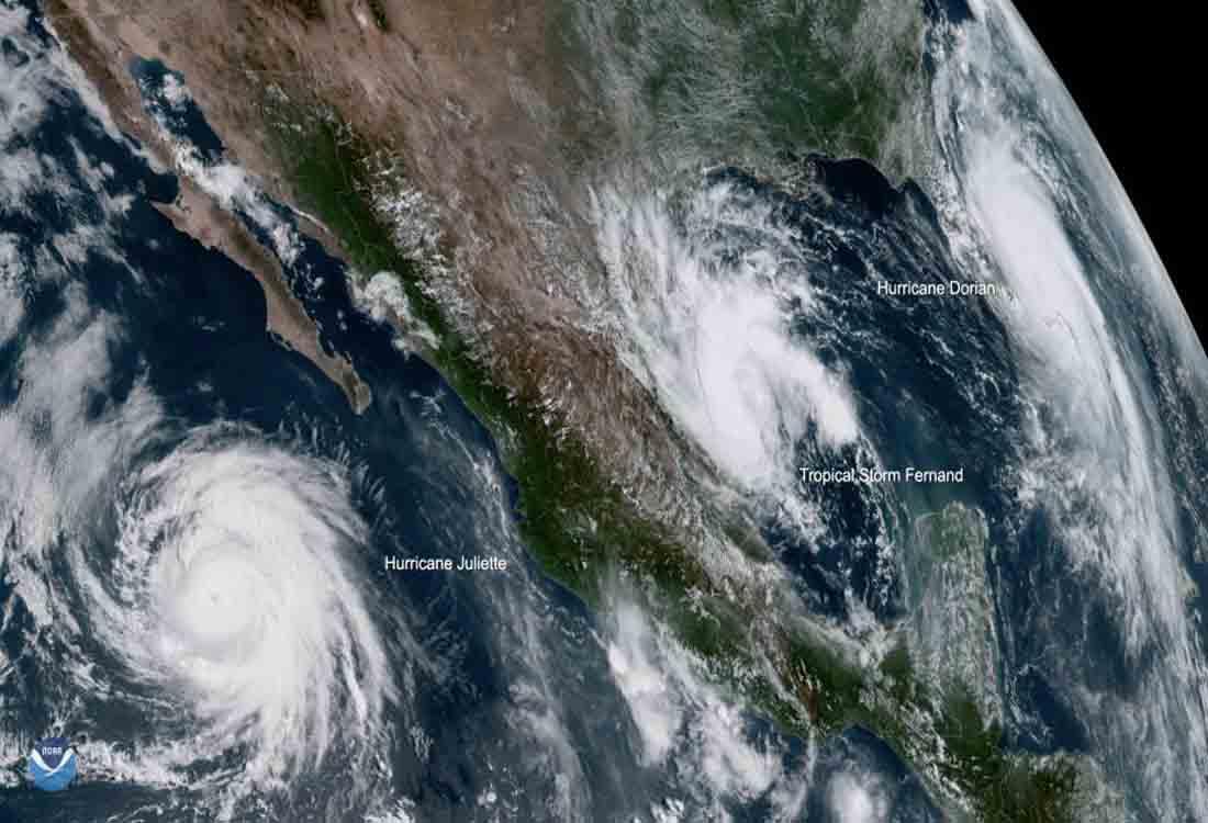 Otra tormenta tropical podría golpear parte de México y Texas esta semana