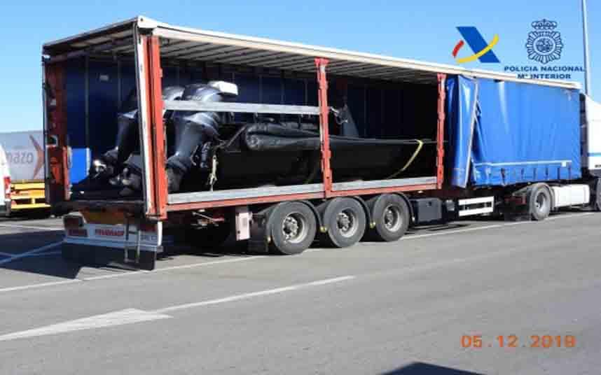 Desarticulada en Málaga una organización de narcos de las más activas en tráfico de hachís