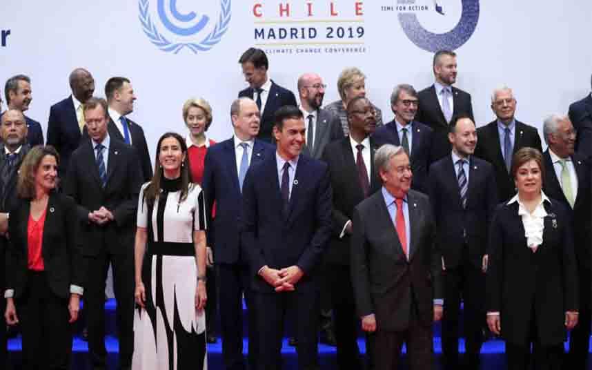 El carbono y la financiación para los daños, los puntos fuertes de la COP25