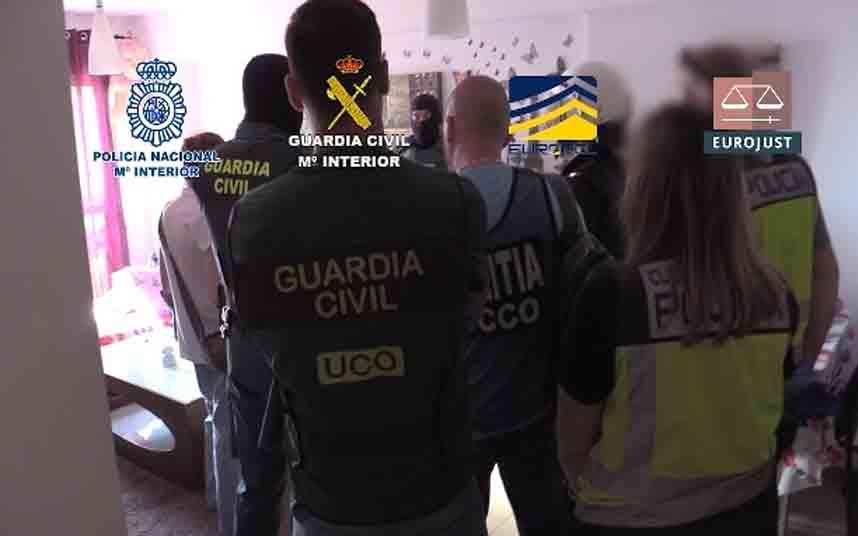 Desarticulada una organización que explotaba víctimas captadas en Rumanía