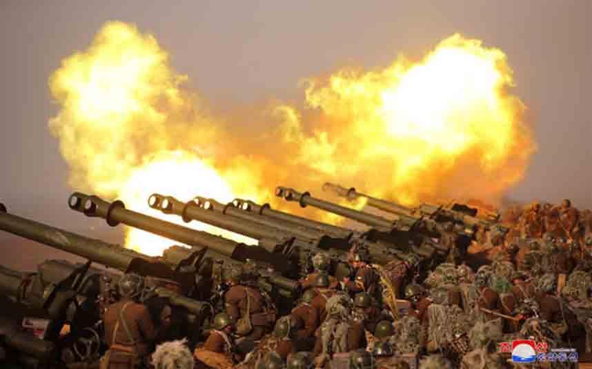Corea del Norte dispara proyectiles al mar por tercera vez en un mes
