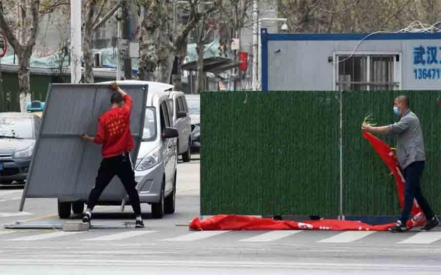 El confinamiento de Wuhan terminará el 8 de abril para volver a trabajar