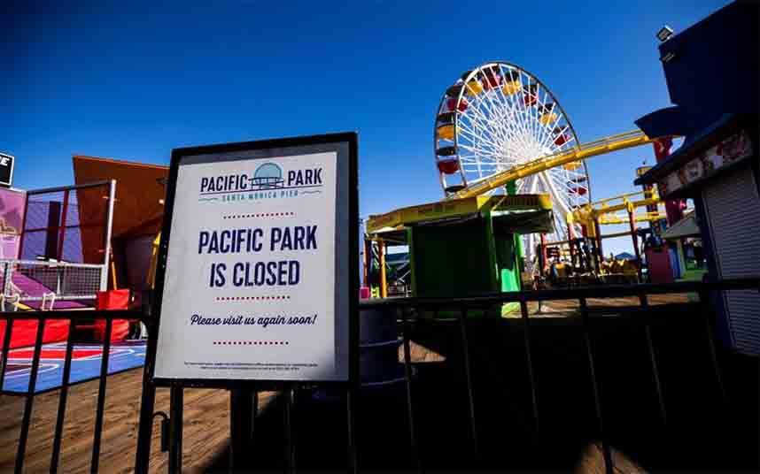 El gobernador de California ordena el cierre de todo el estado