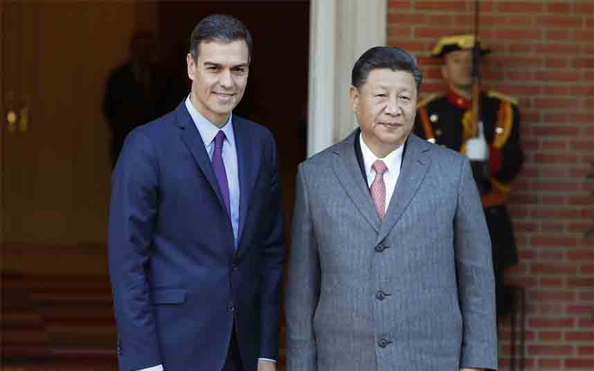 Xi Jinping habló por teléfono con Pedro Sánchez la noche del 17 de marzo