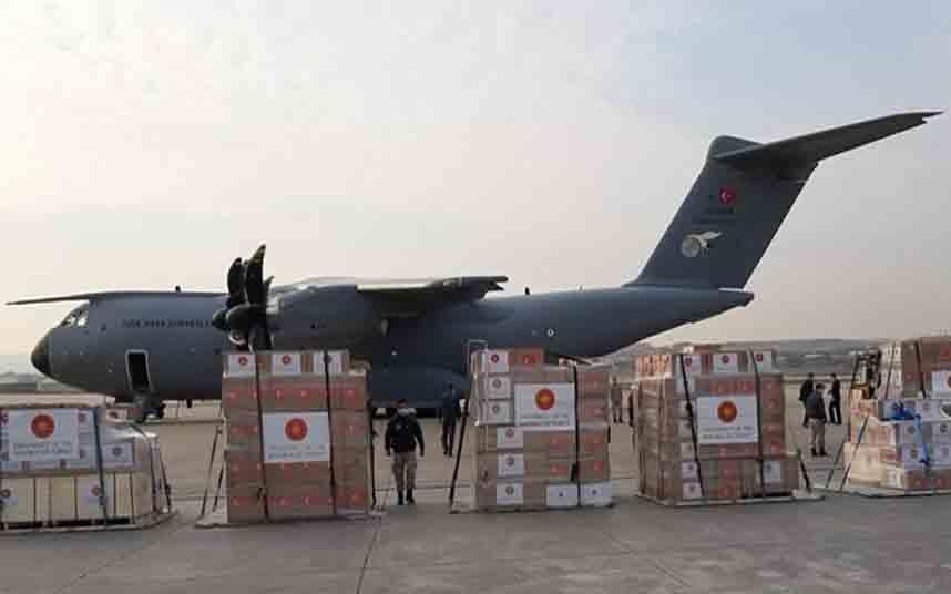 Colaboración entre España y Turquía sobre material sanitario