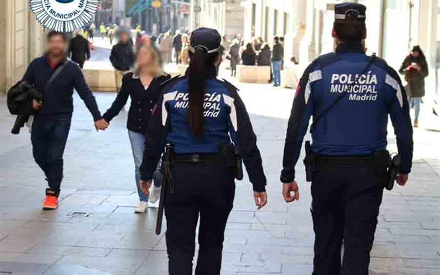 La Policía de Madrid intercepta dos envíos de droga a través de una empresa de reparto