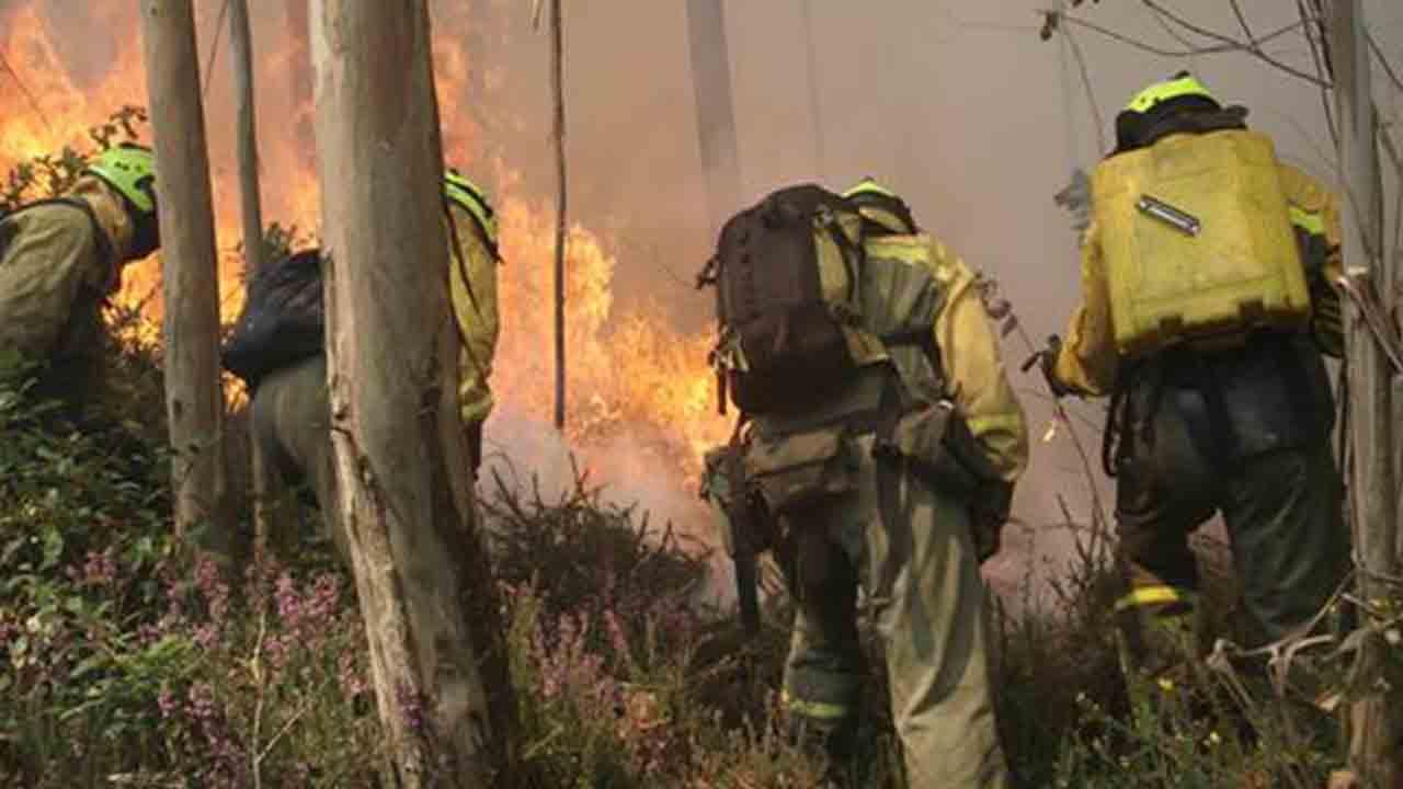El Gobierno despliega medios aéreos y terrestres por los incendios declarados en Ourense