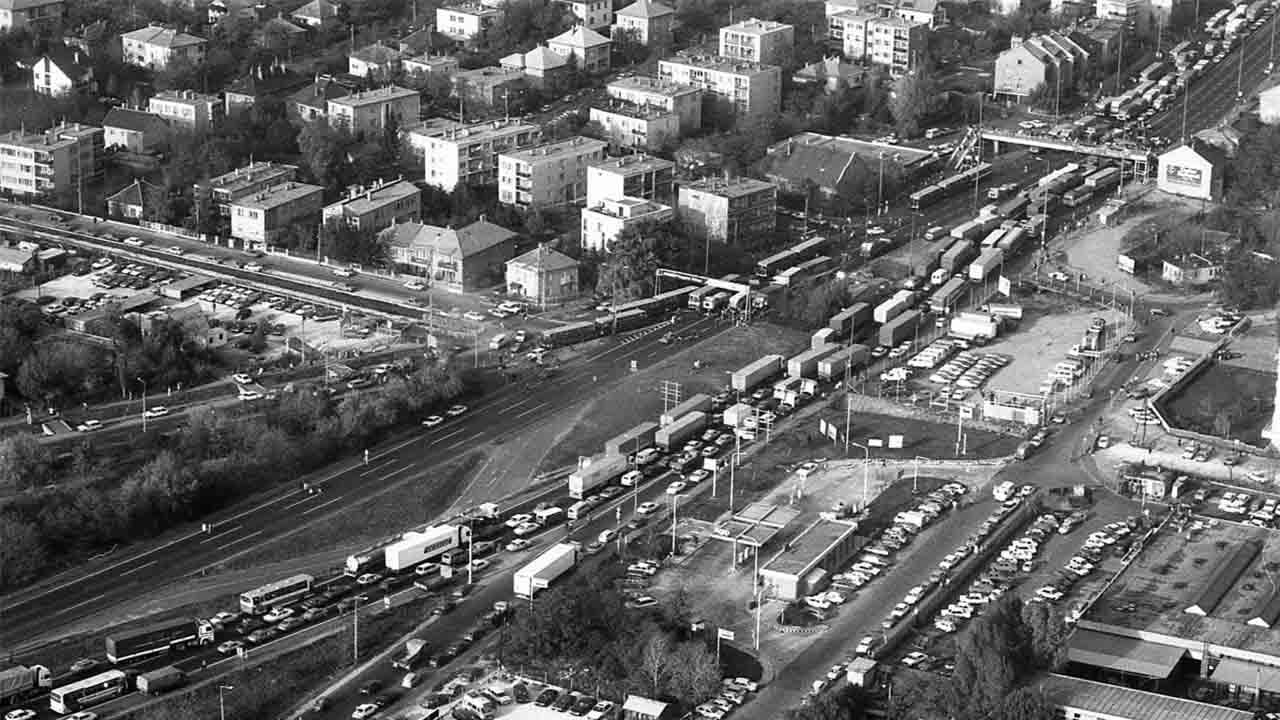 La batalla se libra en las calles: Hace 40 años que 20.000 taxis paralizaron Budapest