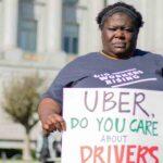 La proposición 22 de Uber en California para desregular los derechos de los trabajadores