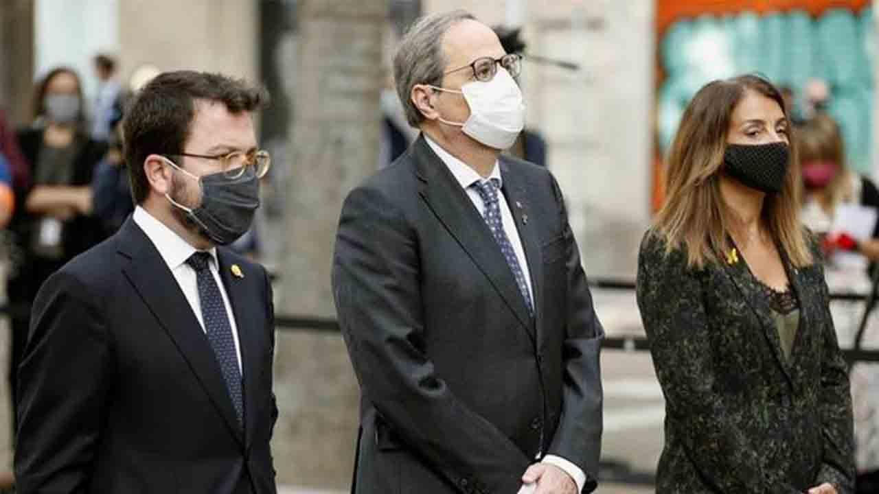 Catalunya celebra una Diada marcada por la pandemia