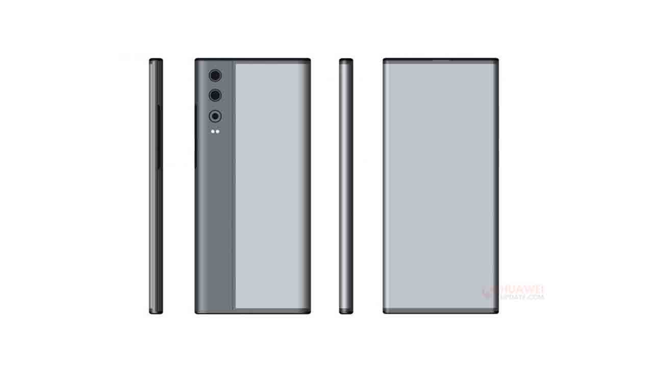 Huawei registra una patente de Smartphone con pantalla envolvente de doble cara