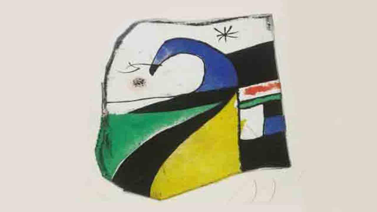 Interceptada una obra de Joan Miró cuando iba a subastarse en Londres