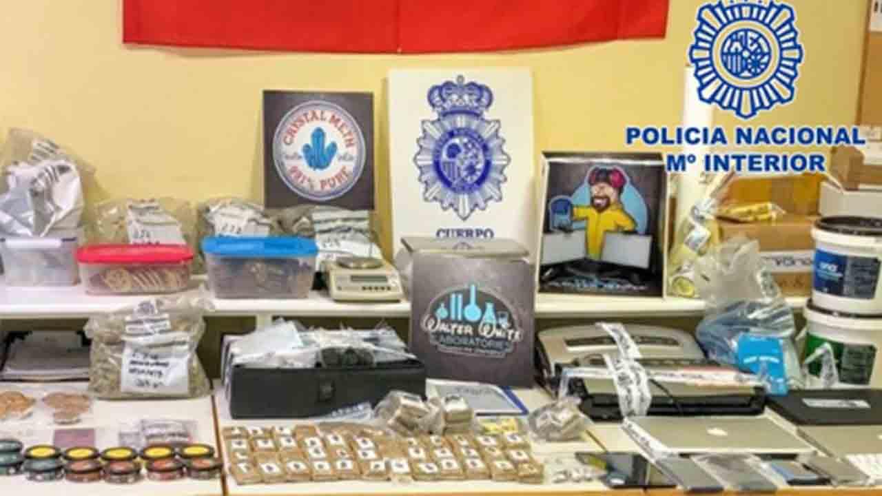 La Policía desmantela un grupo que exportaba droga mediante envíos de paquetería