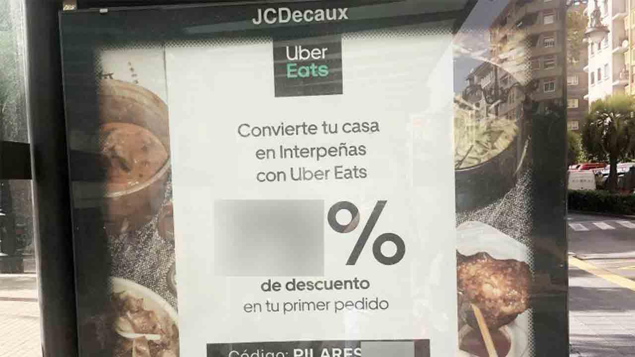 La vergüenza de Uber Eats: Incita a las reuniones en Zaragoza en plena pandemia