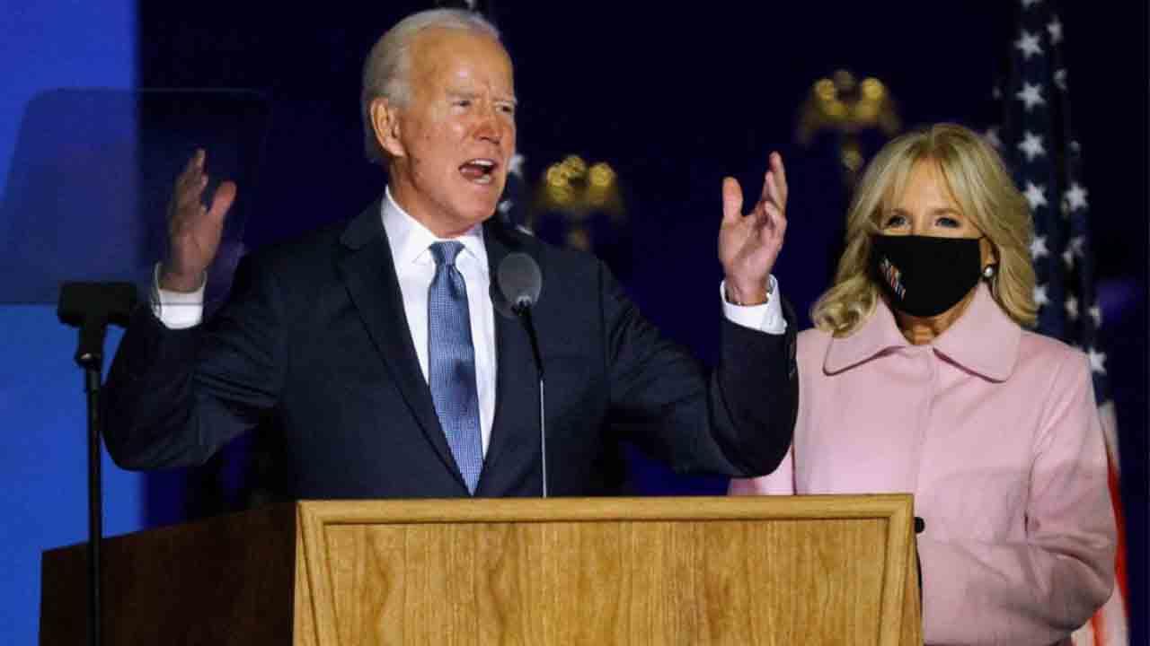 Biden se ve presidente y dice que hay que dejar atrás la ira