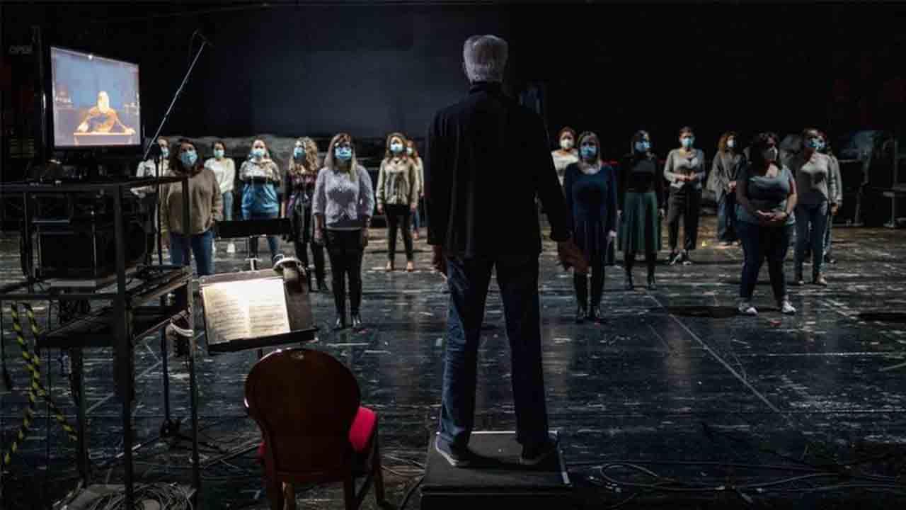El Teatro Real presenta la 'Rusalka' de Dvorak en medio de la pandemia