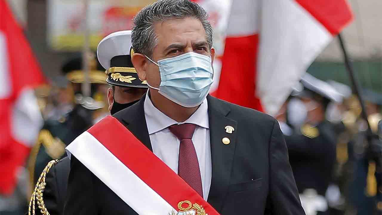 El nuevo presidente de Perú acusado de golpe de Estado tras derrocar a Vizcarra