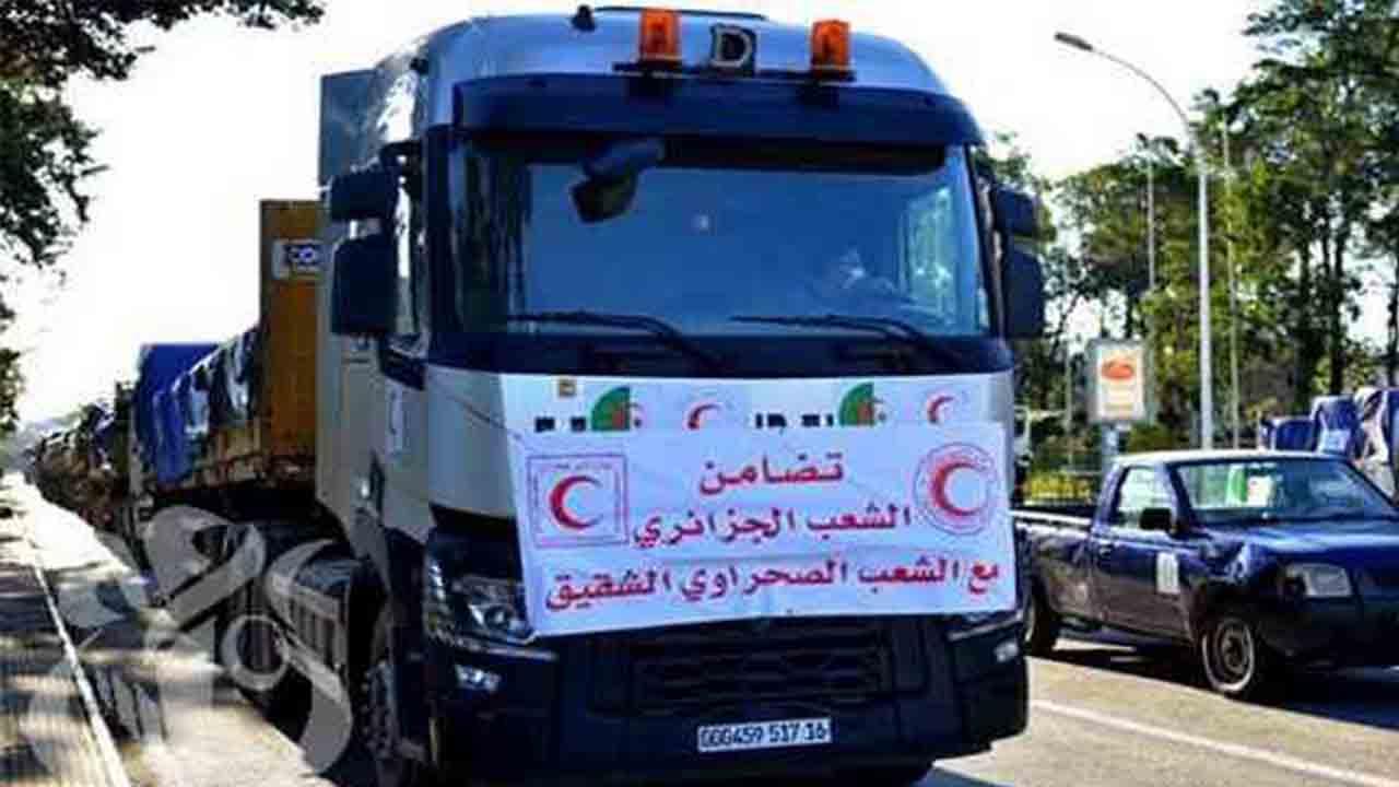 Argelia destina ayuda humanitaria para los campamentos de refugiados saharauis