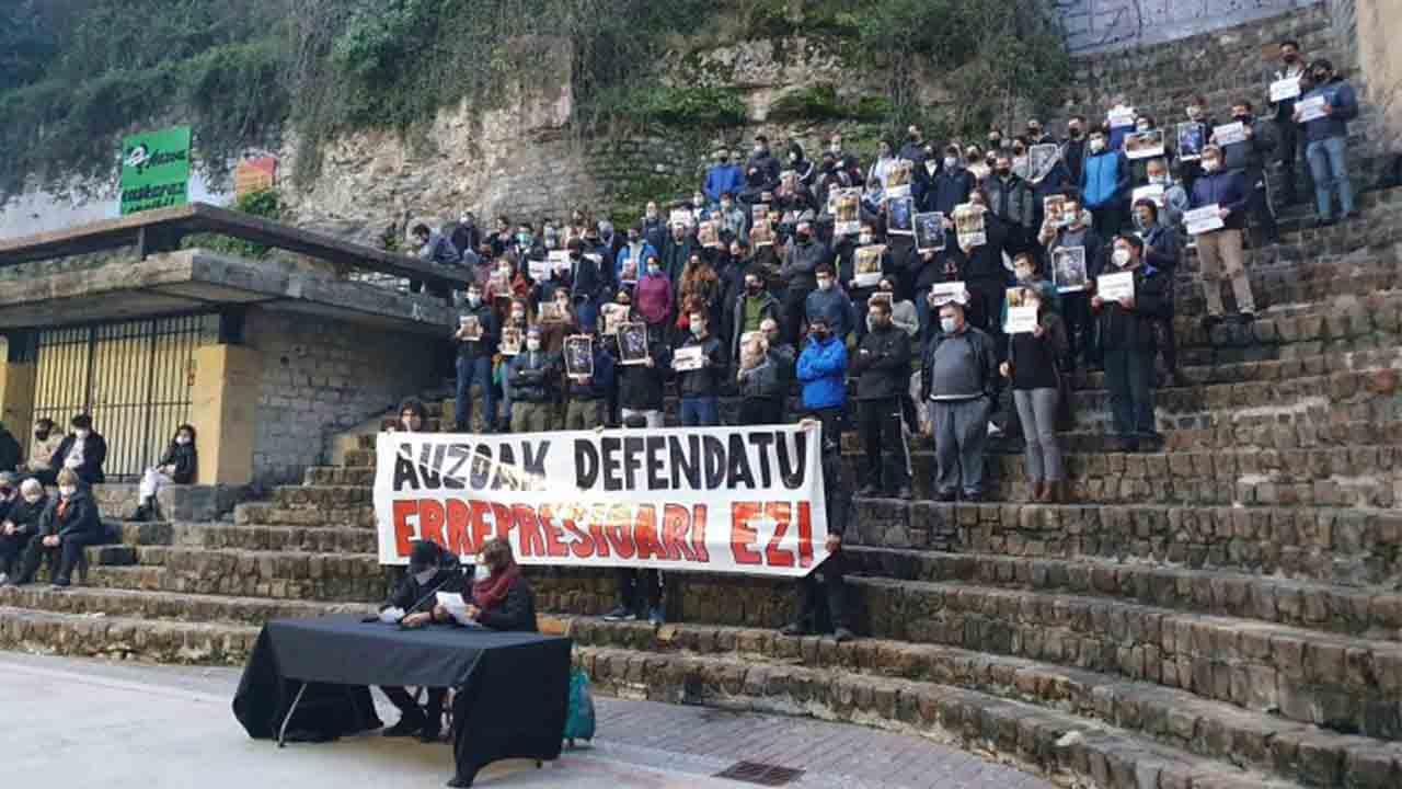 Convocada una manifestación en Donostia para denunciar la violencia de la Ertzaintza