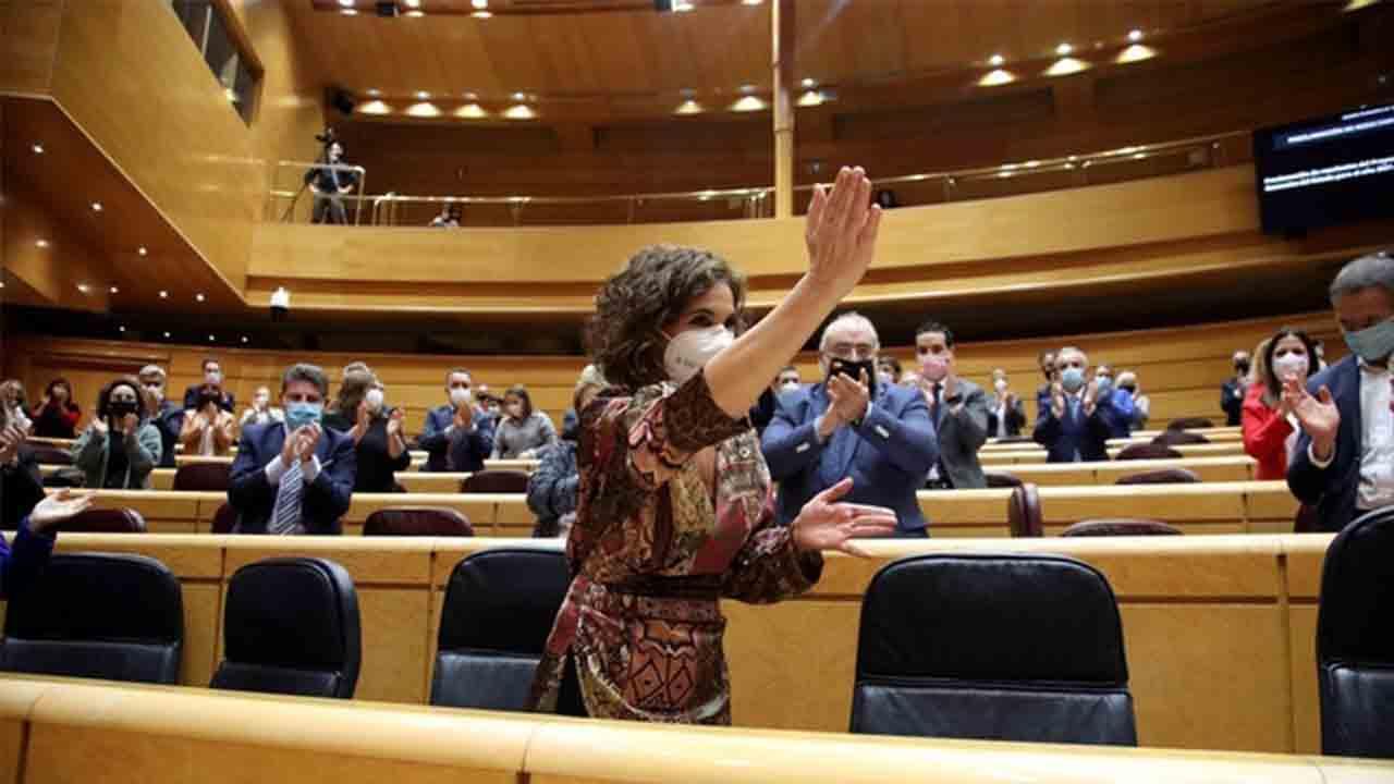 El Senado aprueba los presupuestos del Estado para el 2021, los primeros de Sánchez