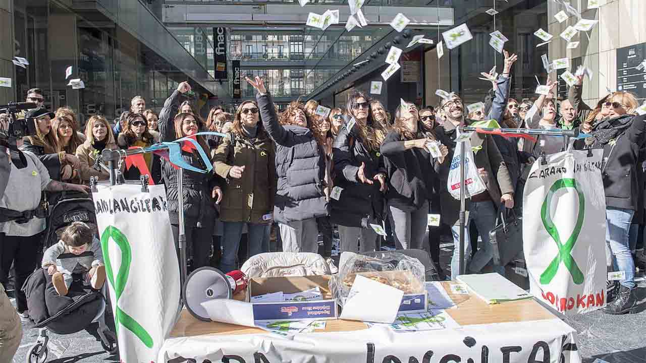 Inditex cerrará siete tiendas en el País Vasco en abril