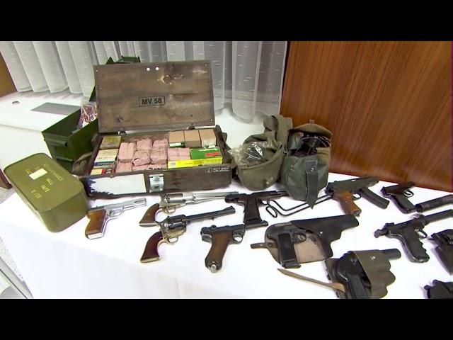 La policía austriaca incauta armas destinadas a la extrema derecha alemana