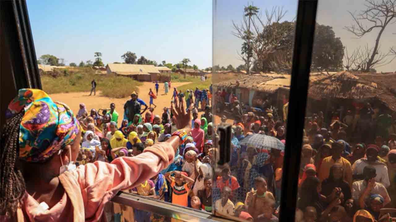 Aviones franceses sobrevuelan la República Centroafricana