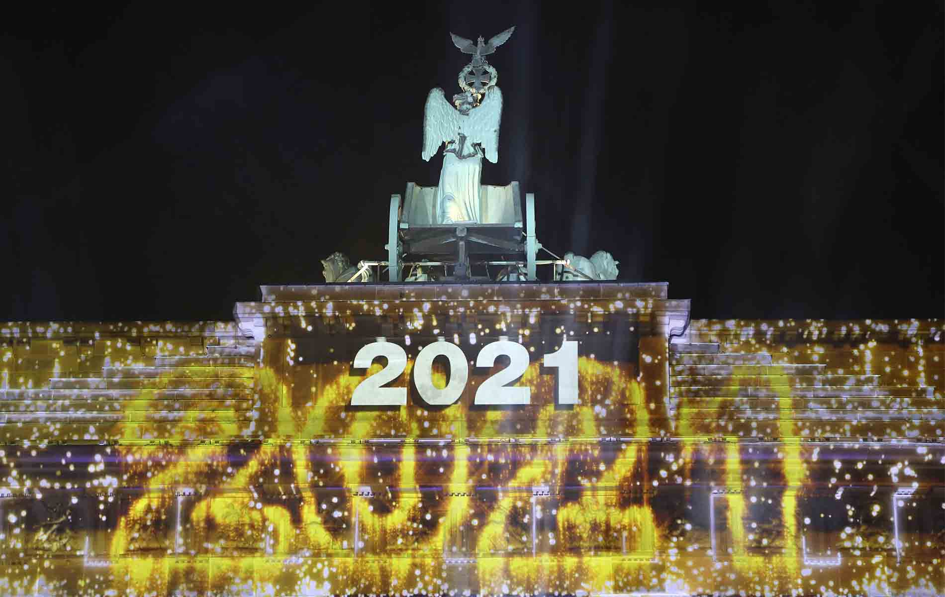Uno de los peores años de la historia, saludó al nuevo 2021
