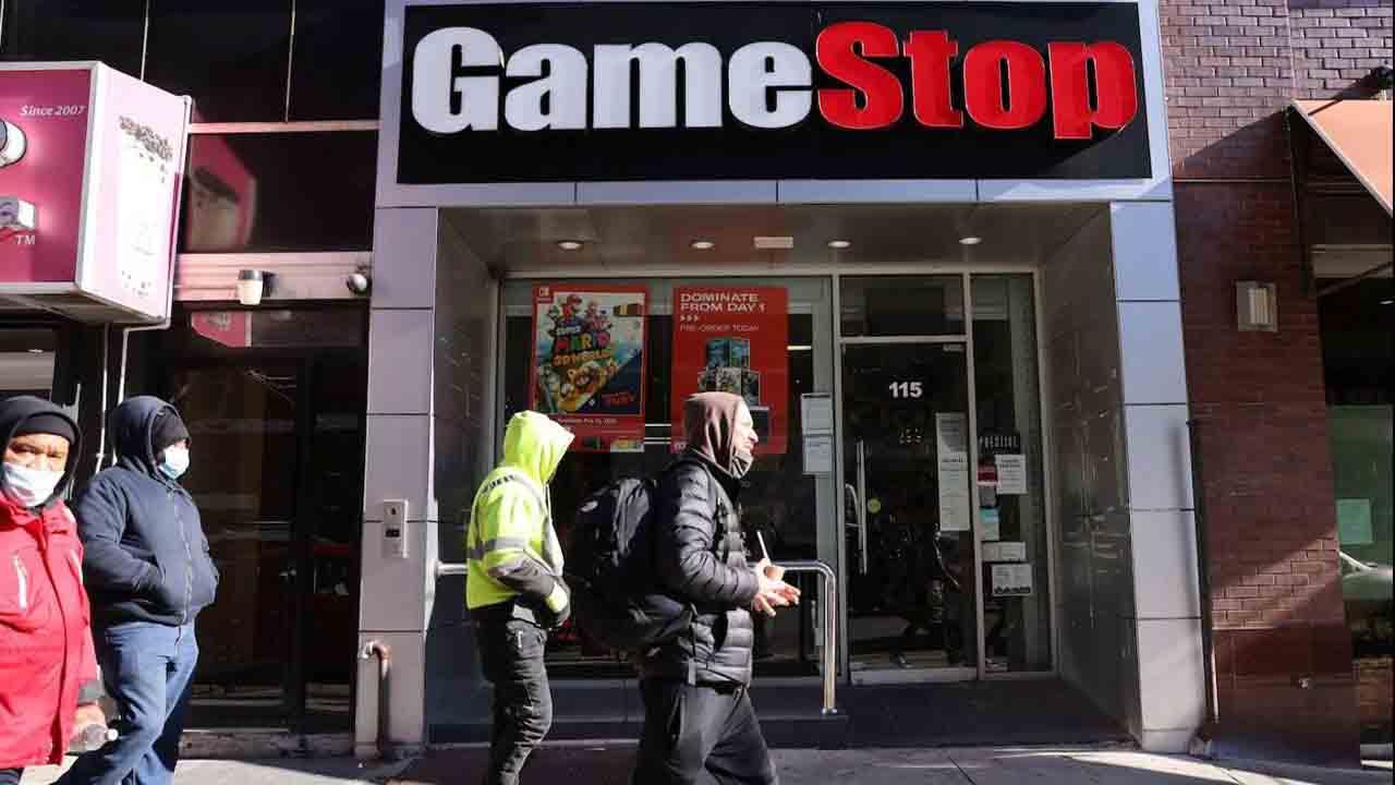 Cae GameStop tras prohibición de la aplicación Robinhood