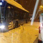 El temporal Filomena azota Madrid