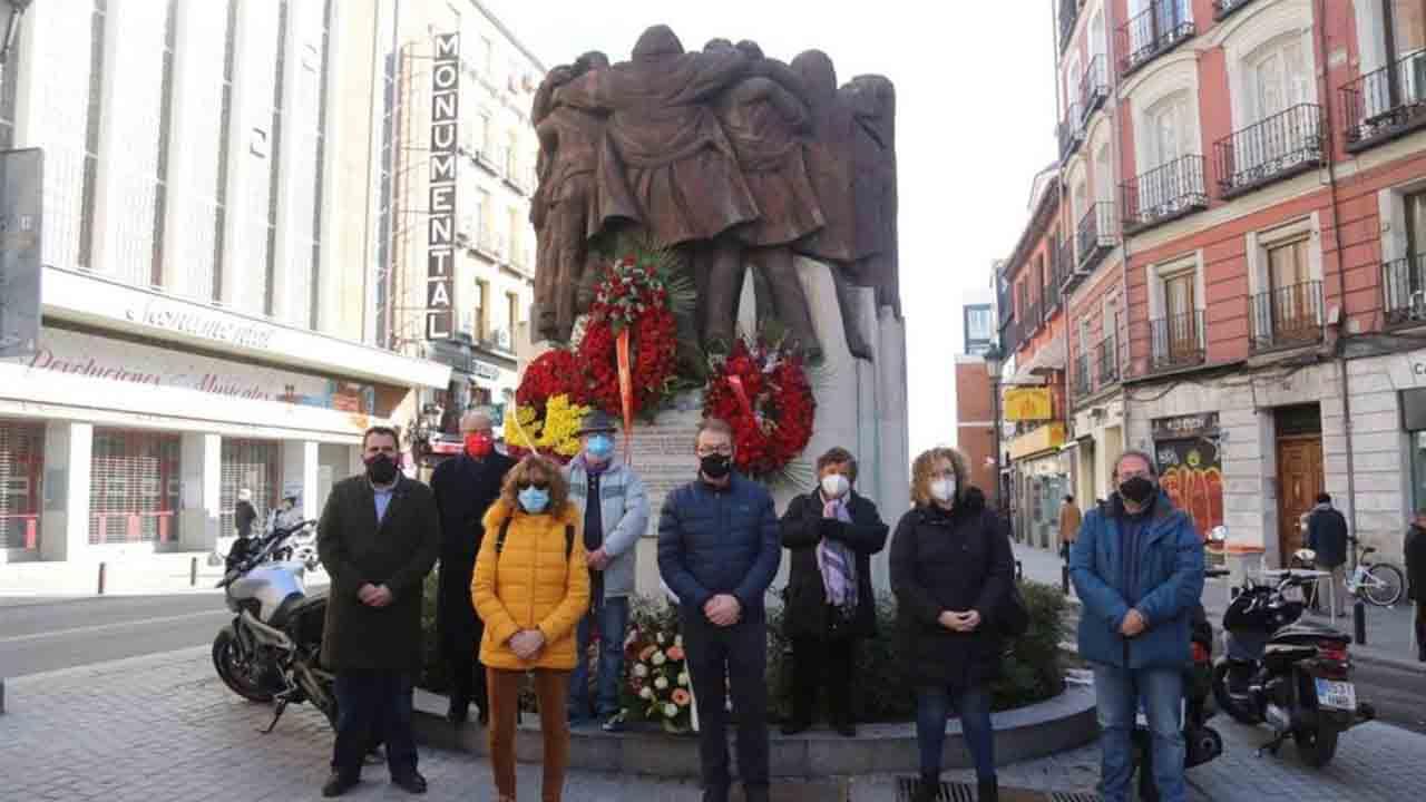 Homenaje a las víctimas del atentado de Atocha de 1977