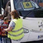La DGT vela por la seguridad del transporte escolar
