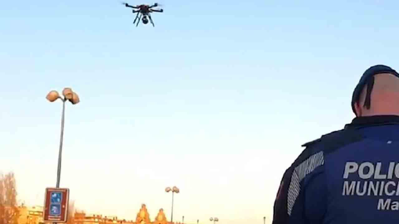 La Policía Municipal de Madrid usará drones para hacer cumplir las restricciones
