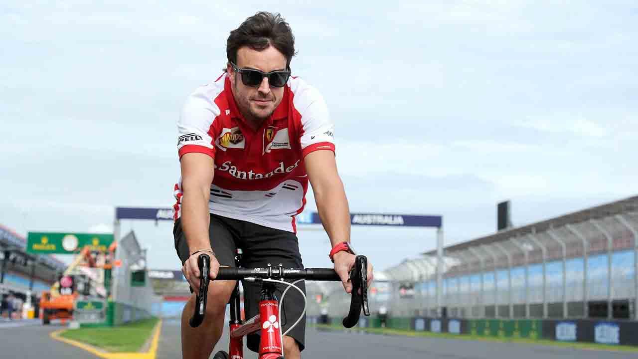 Fernando Alonso se recupera después del accidente