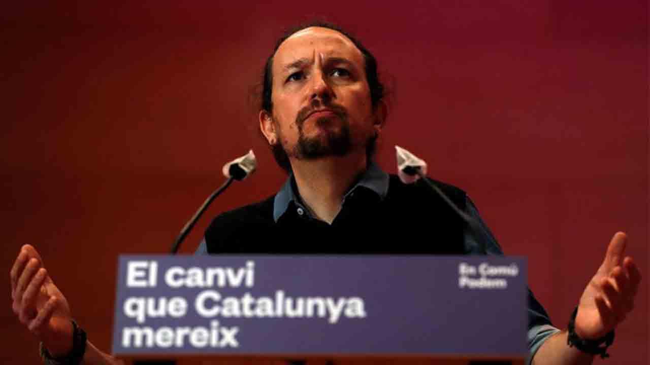 Iglesias: La situación de los presos independentistas indica que no hay plena normalidad democrática