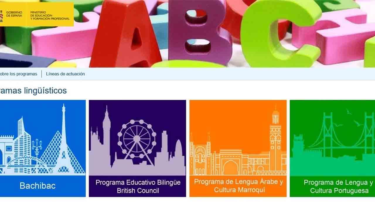 Nuevo portal de Programas Lingüísticos, que cursan más de 60.000 alumnos