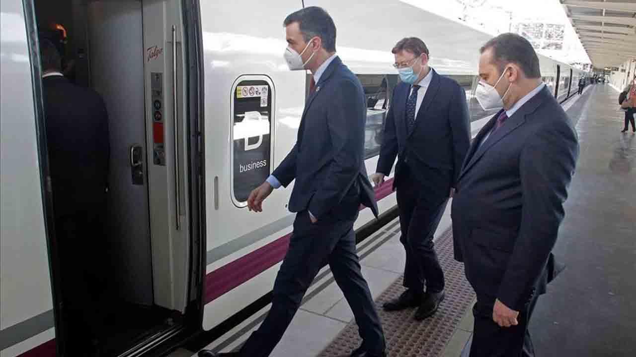Puesta en marcha del nuevo tramo del AVE en Alicante