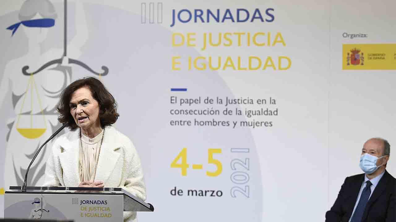 Acto de clausura de las III Jornadas de 'Justicia e Igualdad'