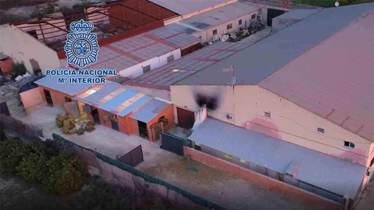 Desarticulado un laboratorio en Alicante capaz de producir 600 kilos de cocaína al mes