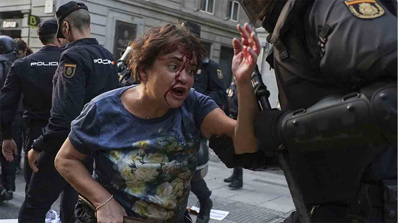 El Tribunal de Derechos Humanos condena a España por la actuación policial del Congreso en 2012