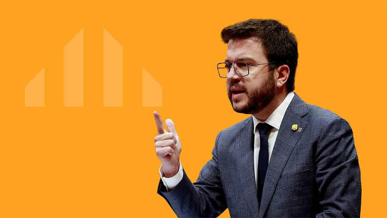 Fracasa la primera votación para investir a Pere Aragonés