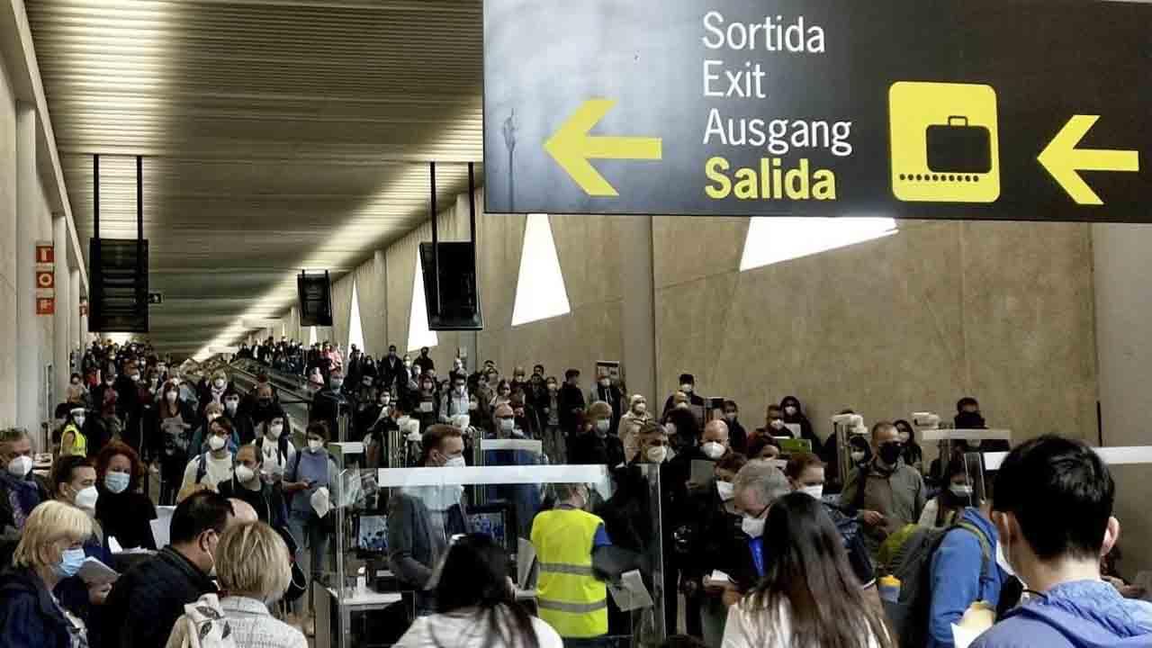 Miles de alemanes vuelan a Mallorca esta Semana Santa a pesar de la pandemia