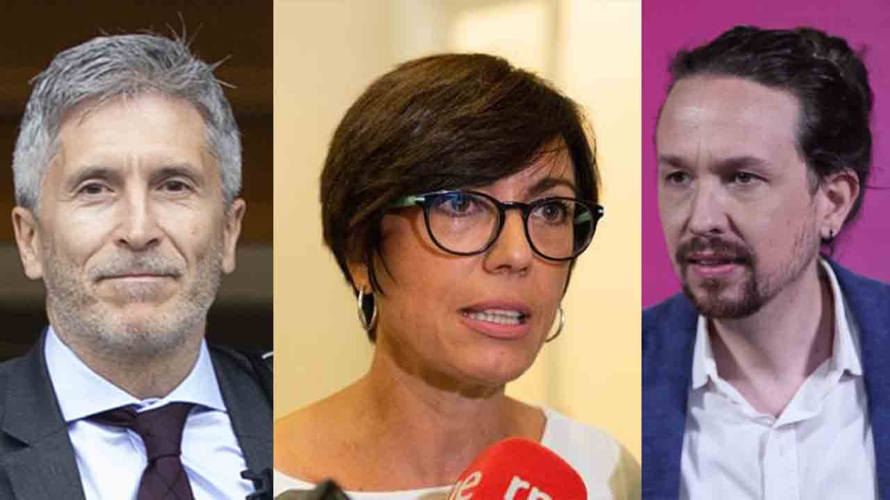 Amenazas con balas en cartas dirigidas a Marlaska, Iglesias y Gámez