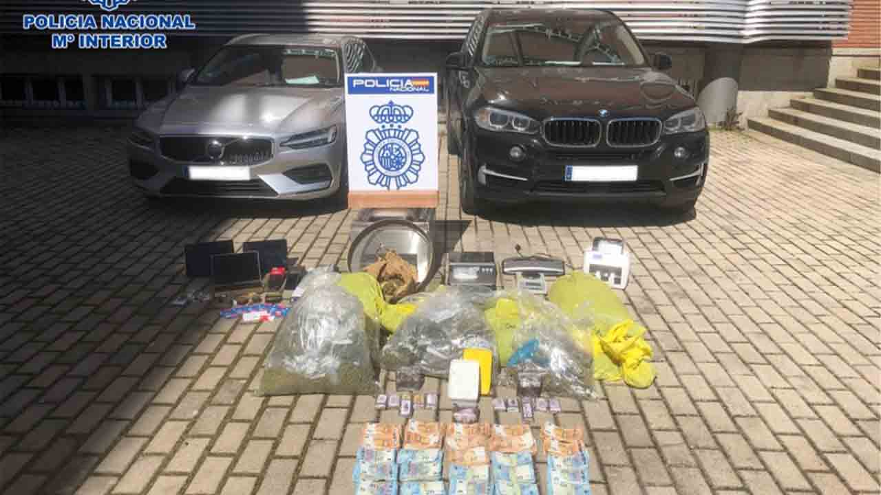 La Policía Nacional desarticula un grupo criminal dedicado al transporte de cocaína desde España hasta Países Bajos