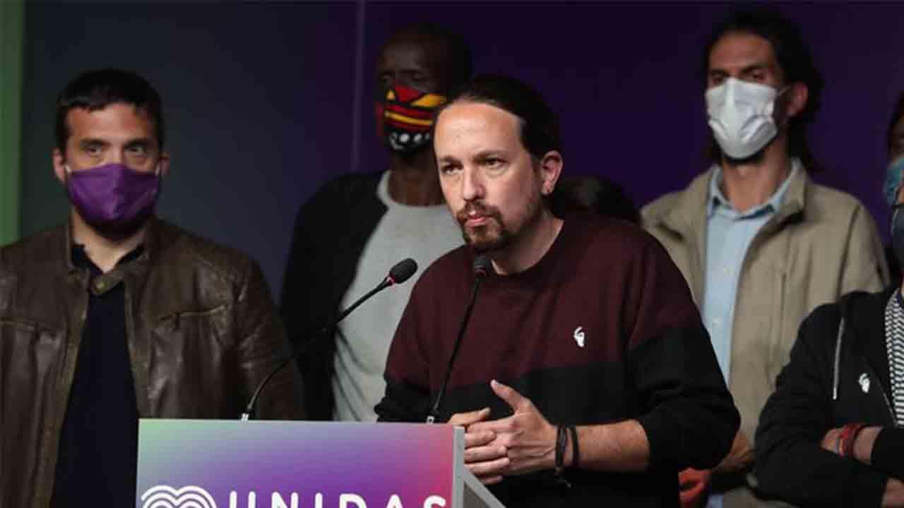 Pablo Iglesias deja la política después de la victoria de la derecha