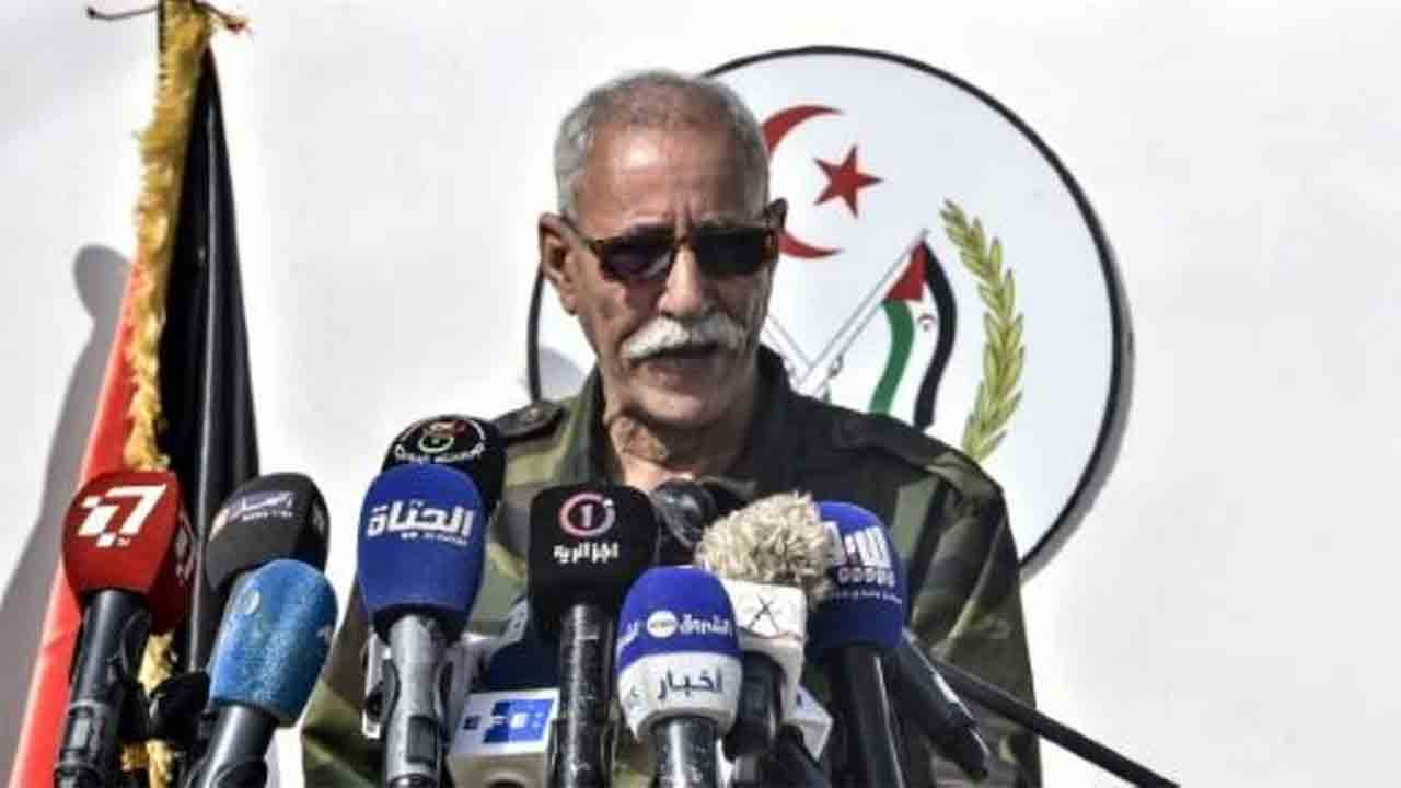 El líder del Frente Polisario, Brahim Ghali, a punto de volver a Argel