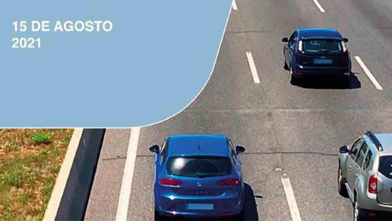 Operación especial de tráfico por el puente del 15 de agosto